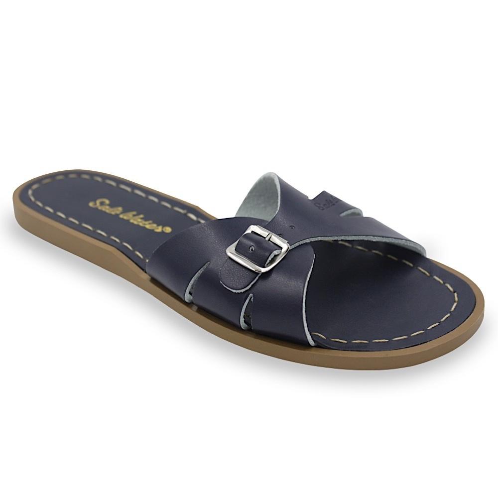 Salt Water Sandals Adult Classic Slides - Navy