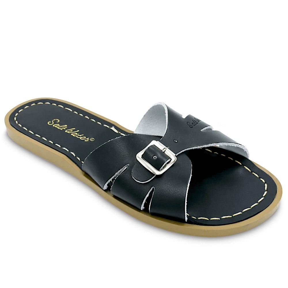 Salt Water Sandals Adult Classic Slides - Black