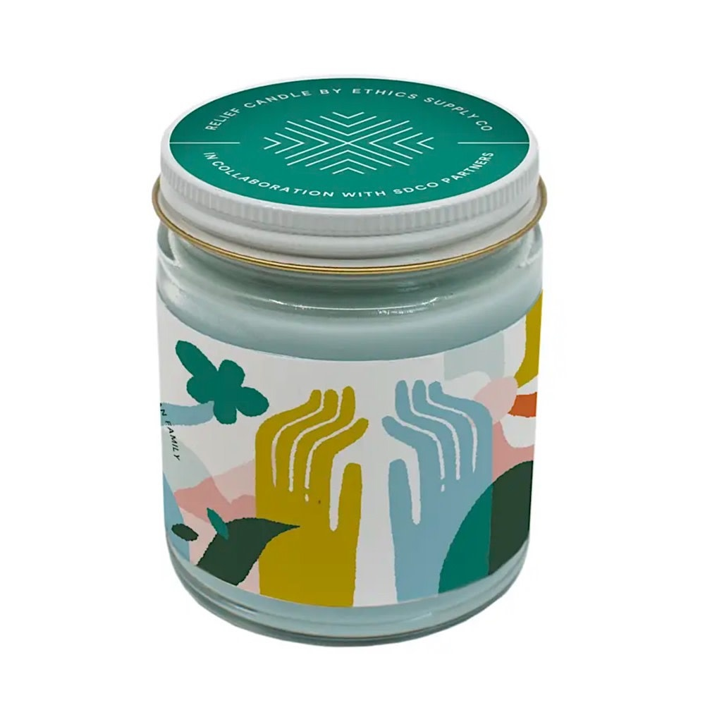 Ethics Supply Co. Candle - GiveDirectly Covid-19 Relief - 9oz