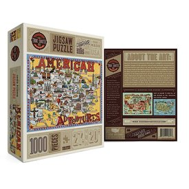 True South Puzzle True South Puzzle America Adventures - 1000 Pieces