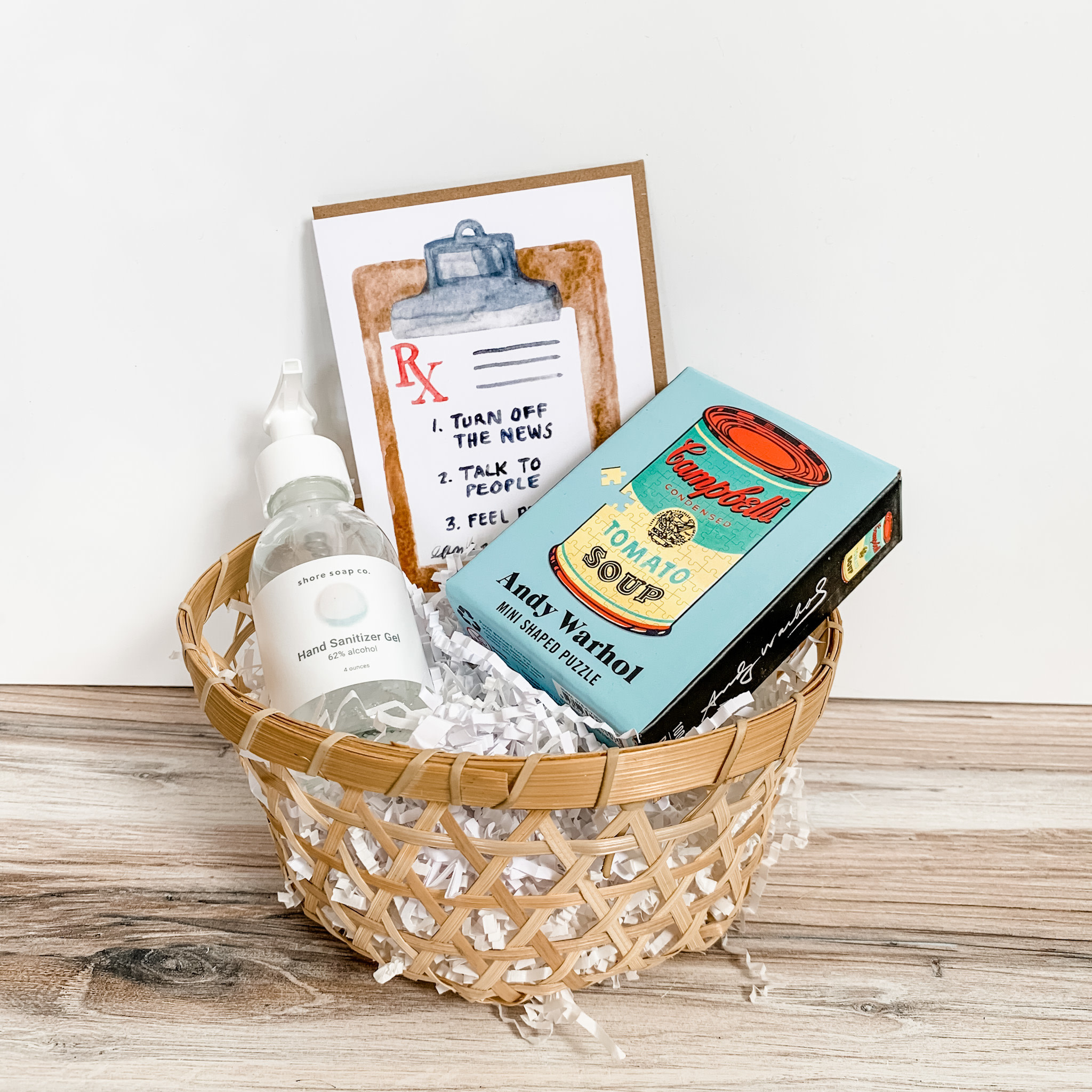 Daytrip Society Gift Basket - Feel Better Essentials