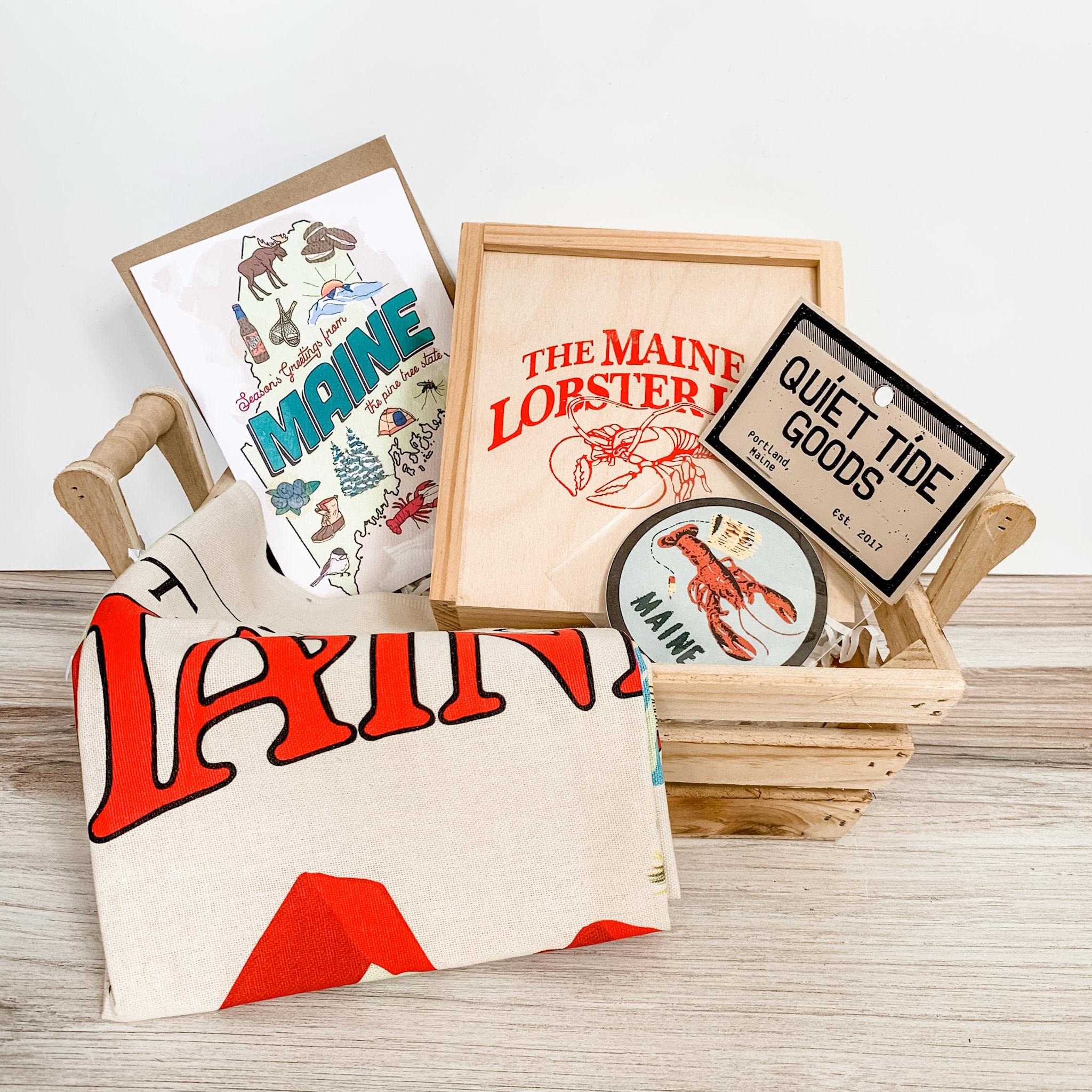 Daytrip Society Gift Basket - Maine Essentials Kit