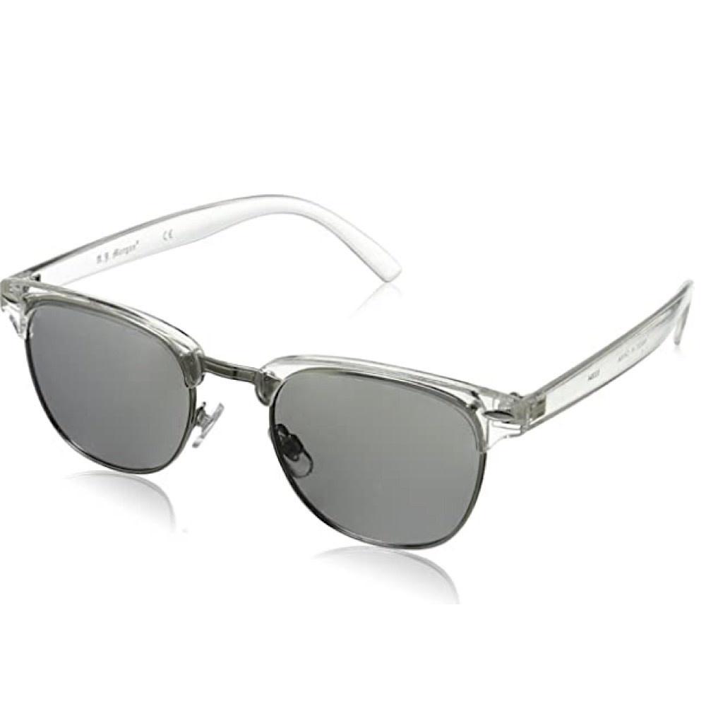 AJ Morgan Soho Sunglasses - Crystal/Mirror