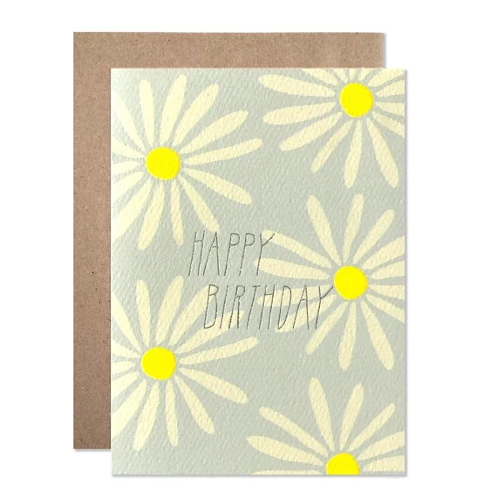 Hartland Brooklyn Card - Birthday Daisies