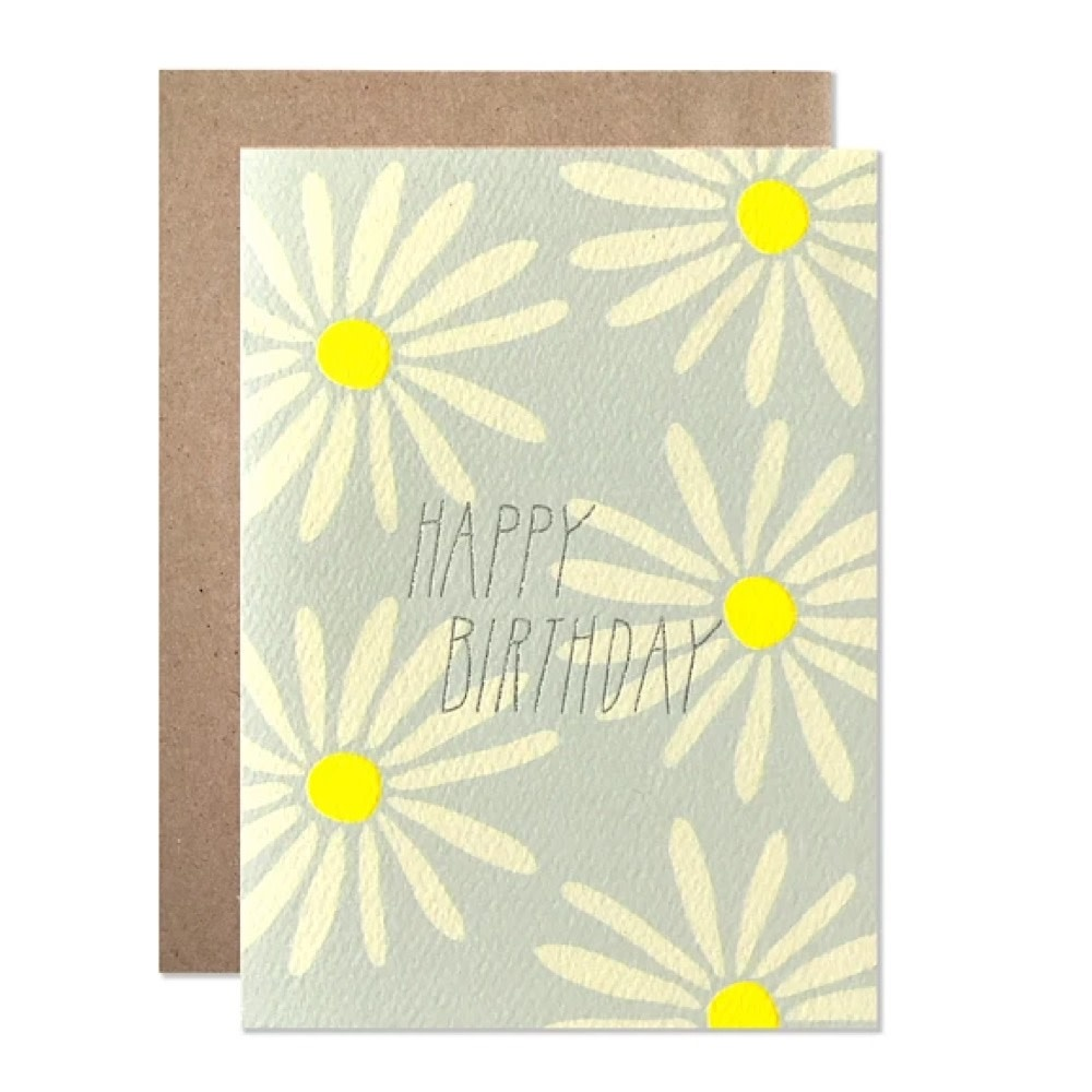 Hartland Brooklyn Hartland Brooklyn Card - Birthday Daisies
