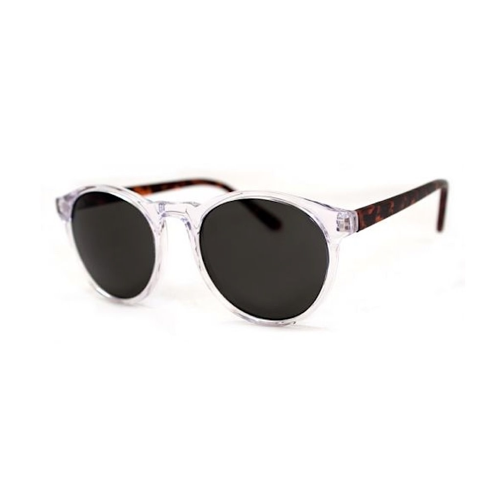 Grad School Sunglasses - Crystal/Tortoise