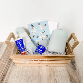 Daytrip Society Gift Basket - Many Thanks Seagull