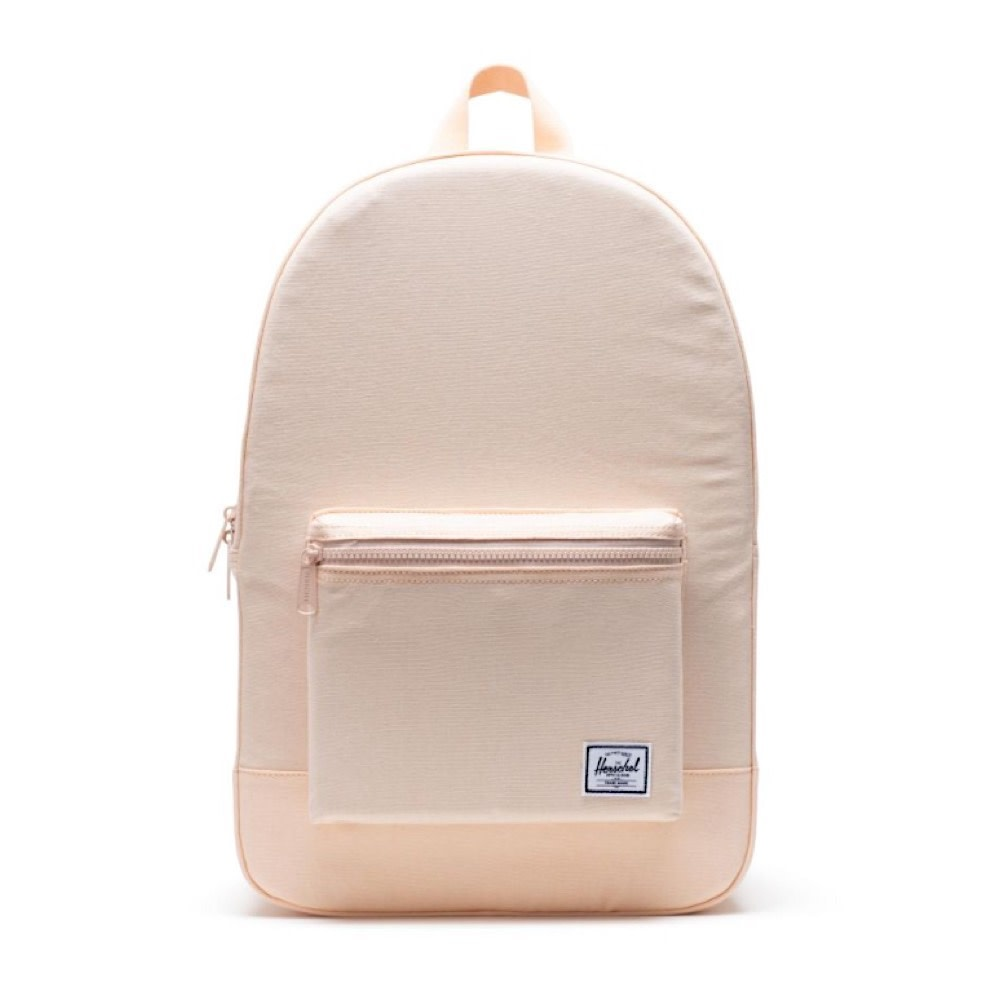Herschel Cotton Canvas Daypack - Apricot