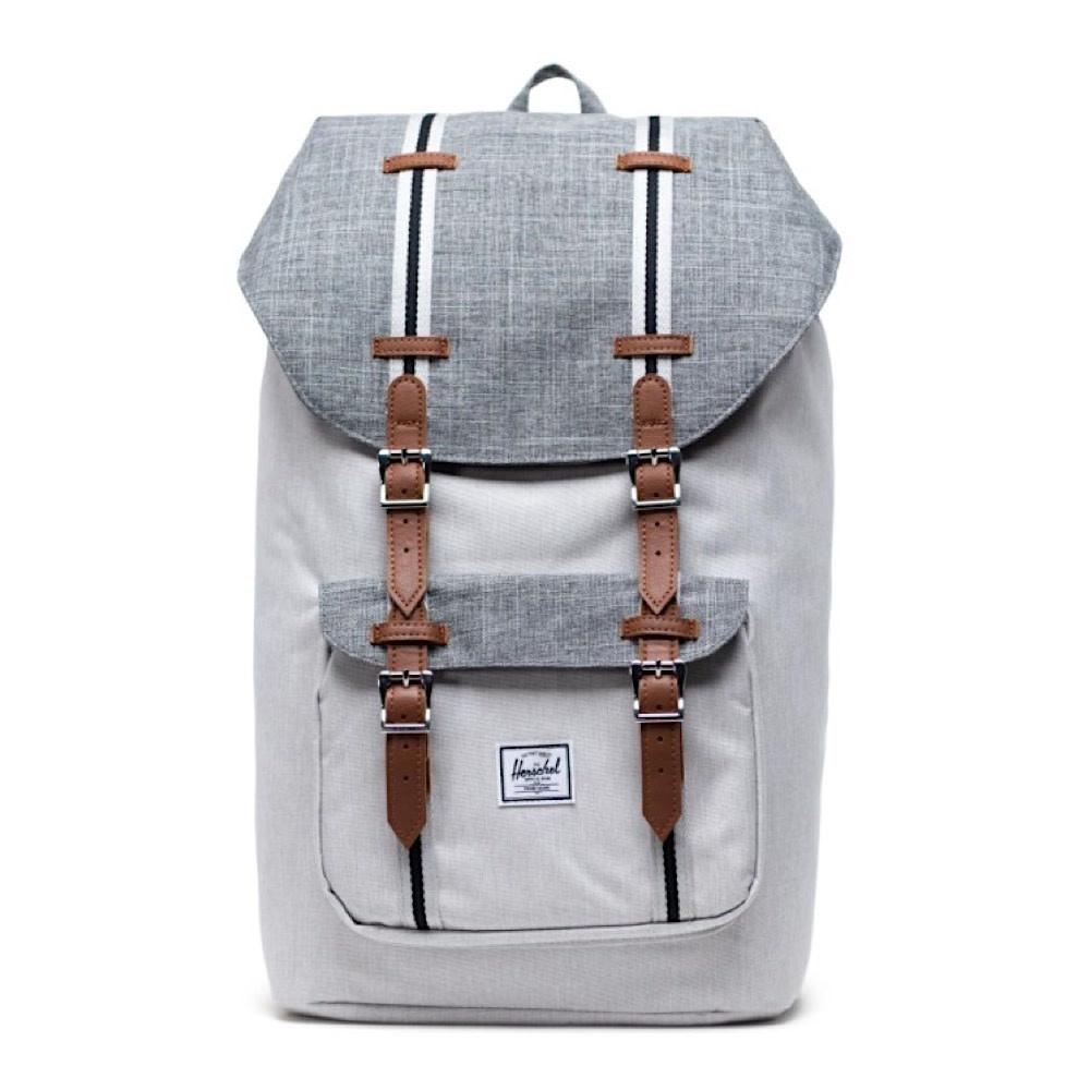 Herschel Little America Backpack - Raven Crosshatch/Vapor Crosshatch