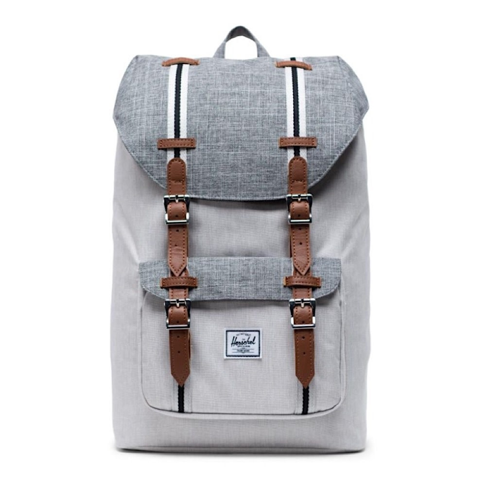 Herschel Supply Co. Herschel Little America Mid-Volume Backpack - Raven Crosshatch/Vapor Crosshatch