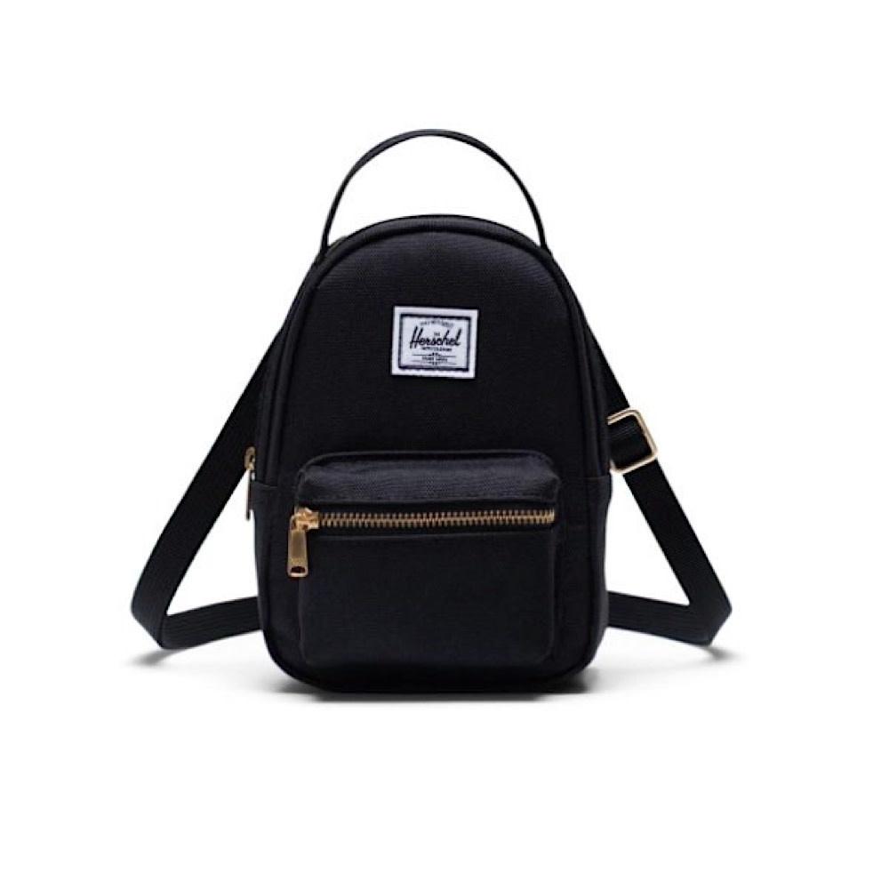 Herschel Nova Crossbody Backpack - Black Crosshatch