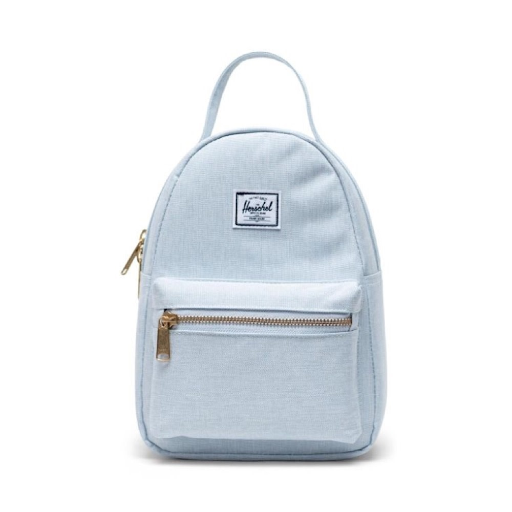 Herschel Nova Mini Backpack - Ballad Blue Pastel Crosshatch