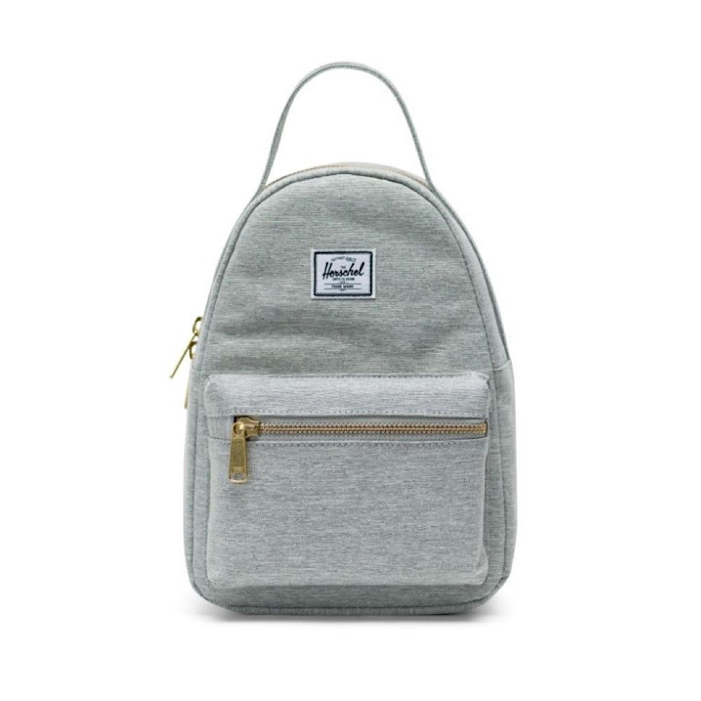 Herschel Nova Mini Backpack - Light Grey Crosshatch