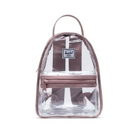 Herschel Supply Co. Herschel Nova Mini Clear Backpack - Ash Rose