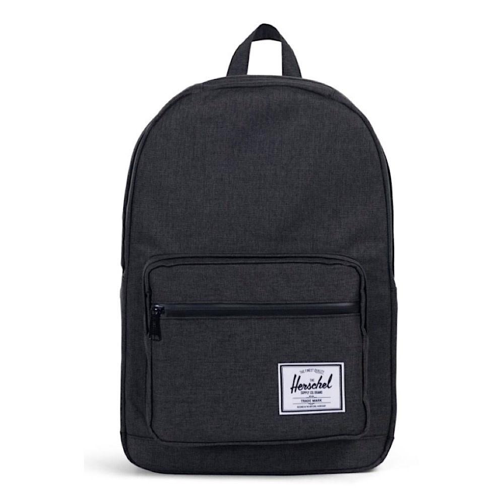 Herschel Pop Quiz Backpack - Black Crosshatch/Black