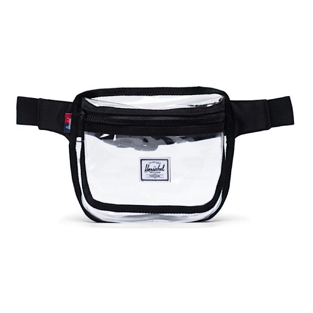 Herschel Supply Co. Herschel Fifteen Clear Hip Pack - Black