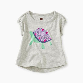 Tea Collection Tea Collection Turtle Baby Graphic Tee