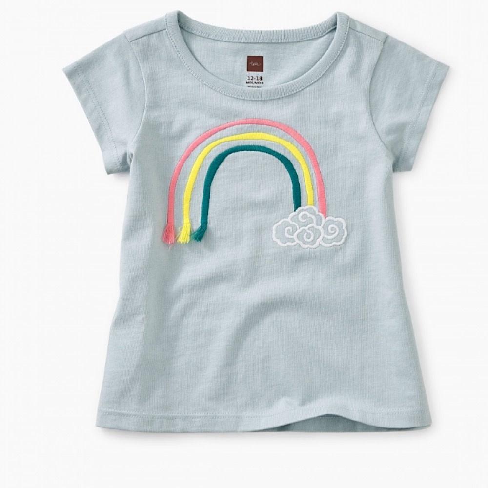 3D Rainbow Baby Graphic