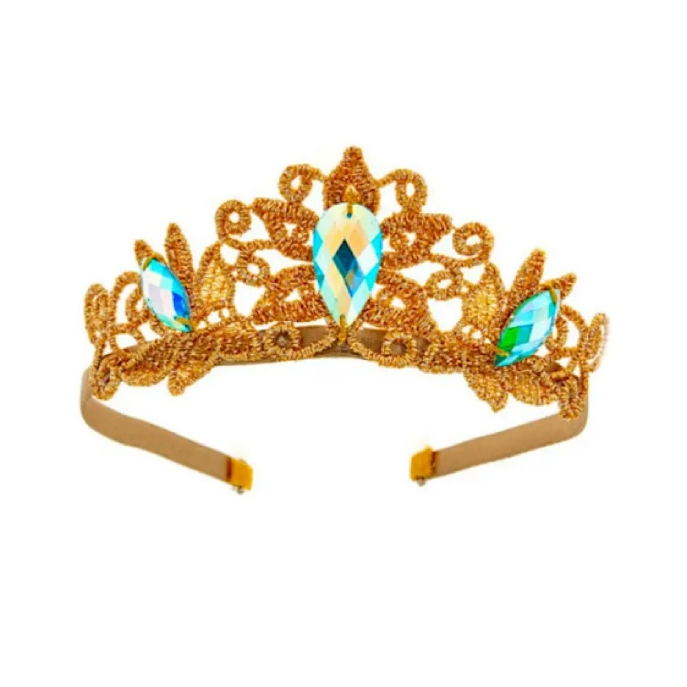 Bailey & Ava Princess Crown - Turquoise