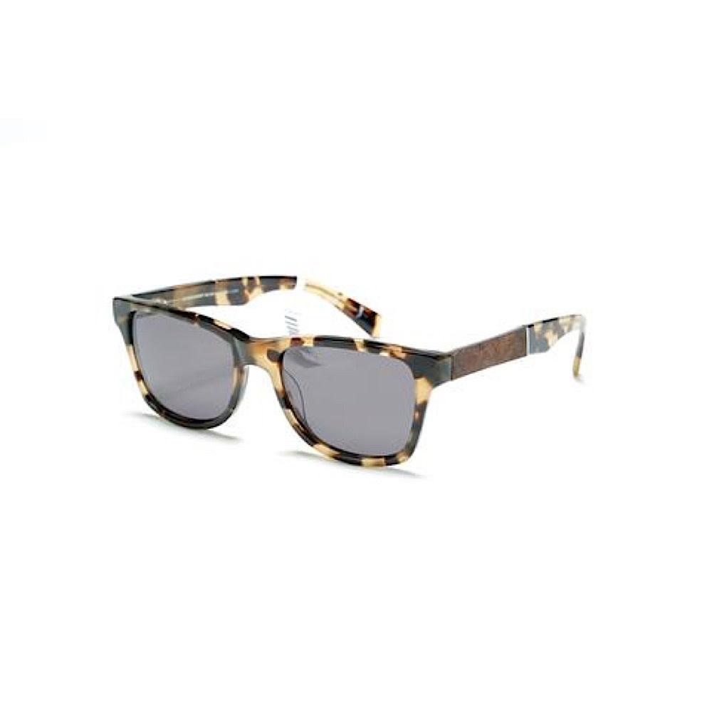 Shwood Canby Sunglasses - Havana - Elm Burl - Grey