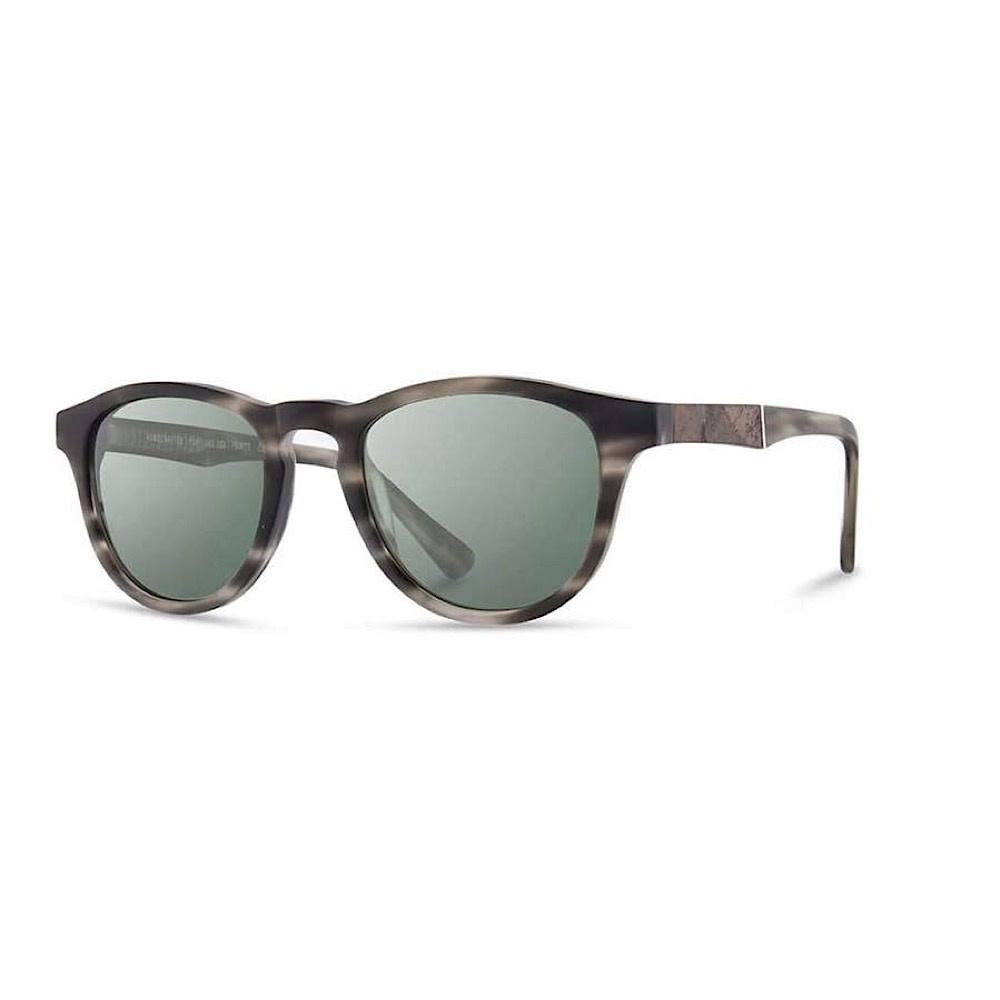 Shwood Shwood Francis Sunglasses - Matte Grey/Elm