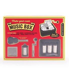 Kikkerland Make Your Own Music Box