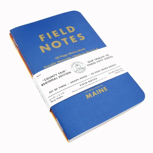 Field Notes-County Fair Limited Edition Maine 3- Pack