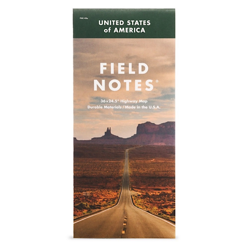Field Notes Field Notes - National Highway Map
