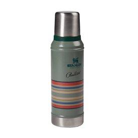 Pendleton Pendleton Stanley Classic Insulated Vacuum Flask - Hammertone Green