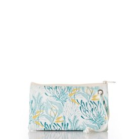 Sea Bags Sea Bags Wristlet - Aquamarine Ocean Flora