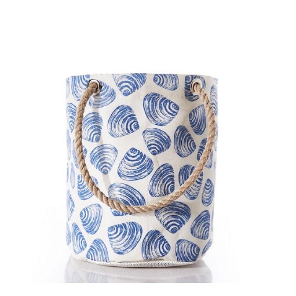 Sea Bags Sea Bags Clamshell Print Beachcomber Bucket Bag