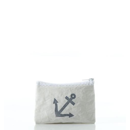 Sea Bags Sea Bags Coin Purse - Anchor Stamp