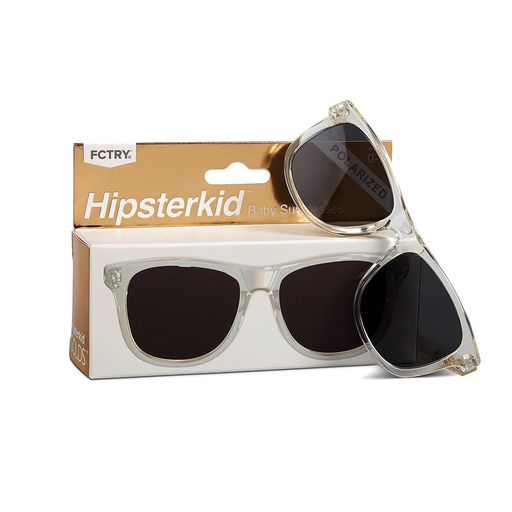 Hipsterkid Golds Sunglasses - Clear