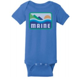 Woods & Sea Woods & Sea - Patamania Onesie - Vintage Royal Blue