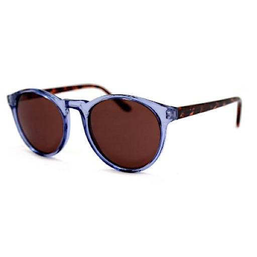 Grad School Sunglasses - Light Blue Tortoise