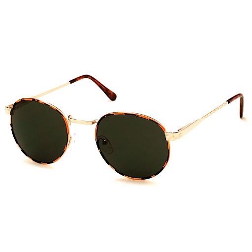 AJ Morgan Belmont Sunglasses - Tiger Gold