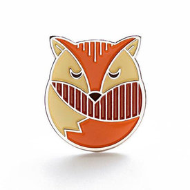 Lost Lust Supply Lost Lust Supply Enamel Pin - Fox