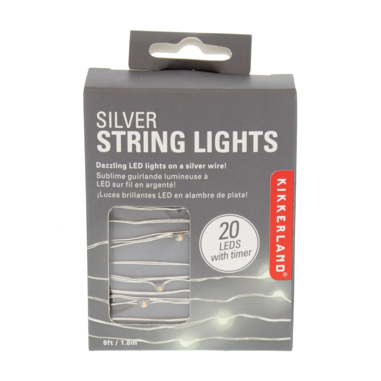Silver String Lights