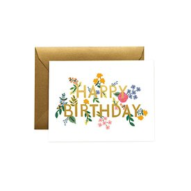 Rifle Paper Co. Rifle Paper Co. Card - Wildwood Birthday