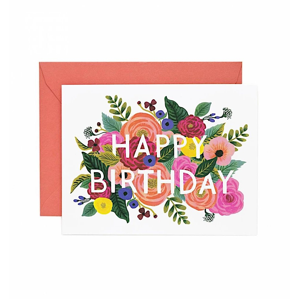 Rifle Paper Co. Rifle Paper Co. Card - Juliet Rose Birthday
