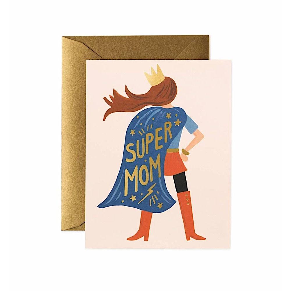 Rifle Paper Co. Card - Super Mom