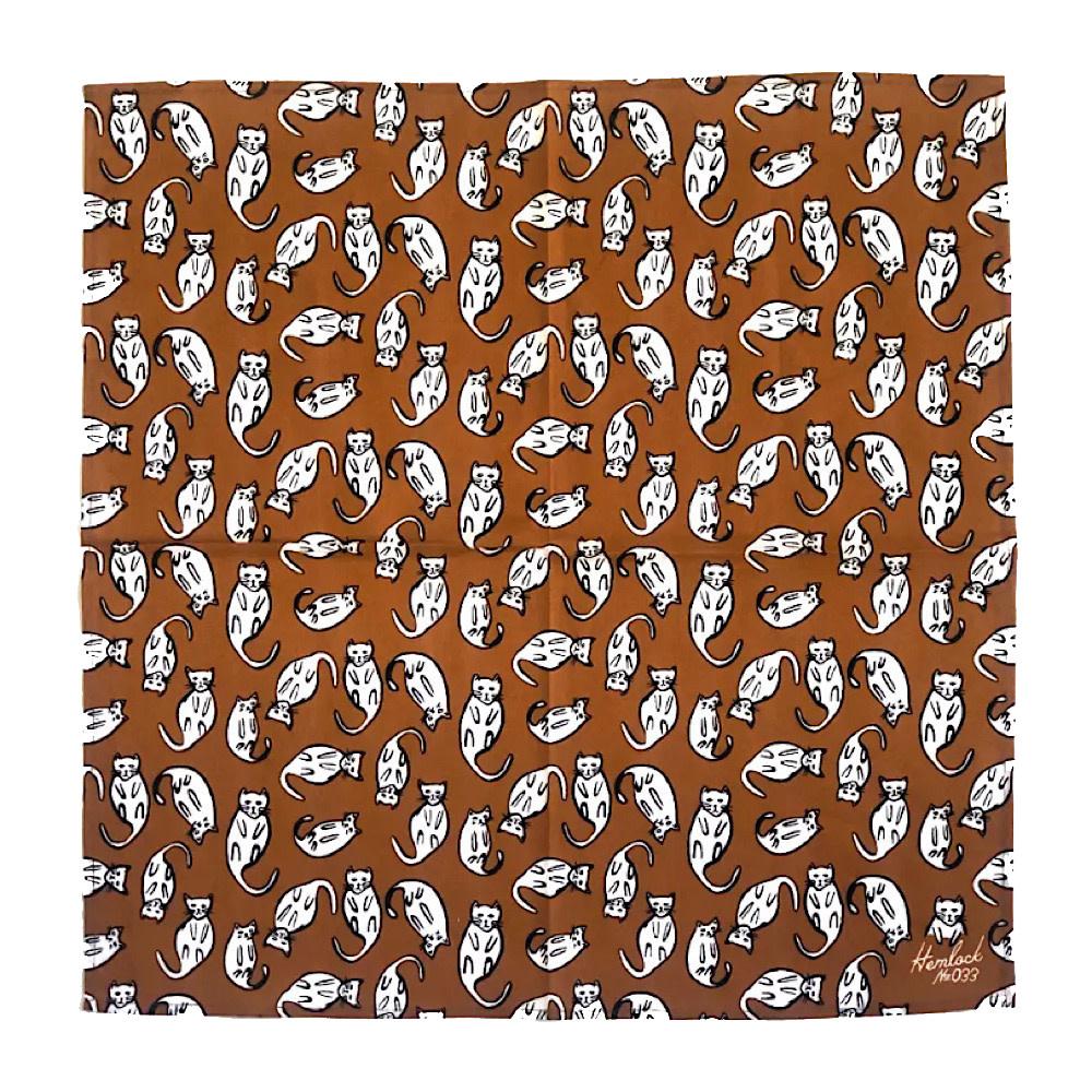 Hemlock Bandana - No. 033 Kitties