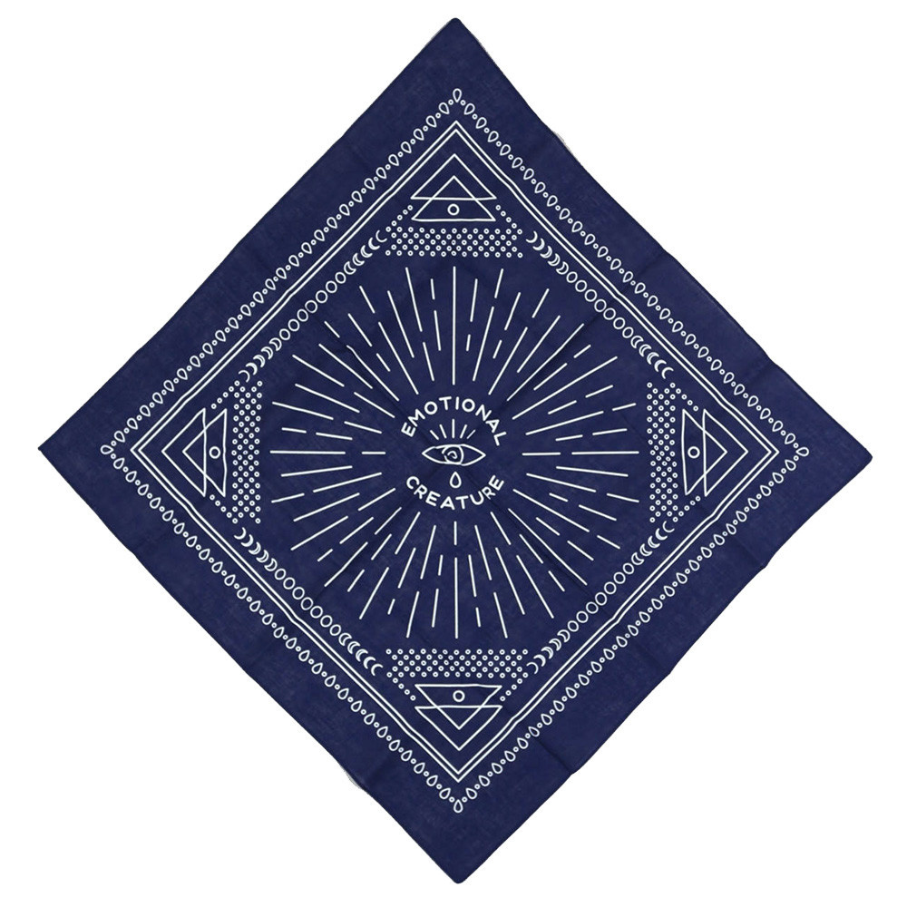 Buy Olympia Notes To Self - Emotional Creature Bandana - Navy