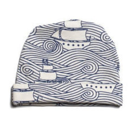 Winter Water Factory Winter Water Factory Baby Hat - High Seas Navy