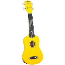 Saga Musical Instruments Diamond Head Ukulele - Yellow