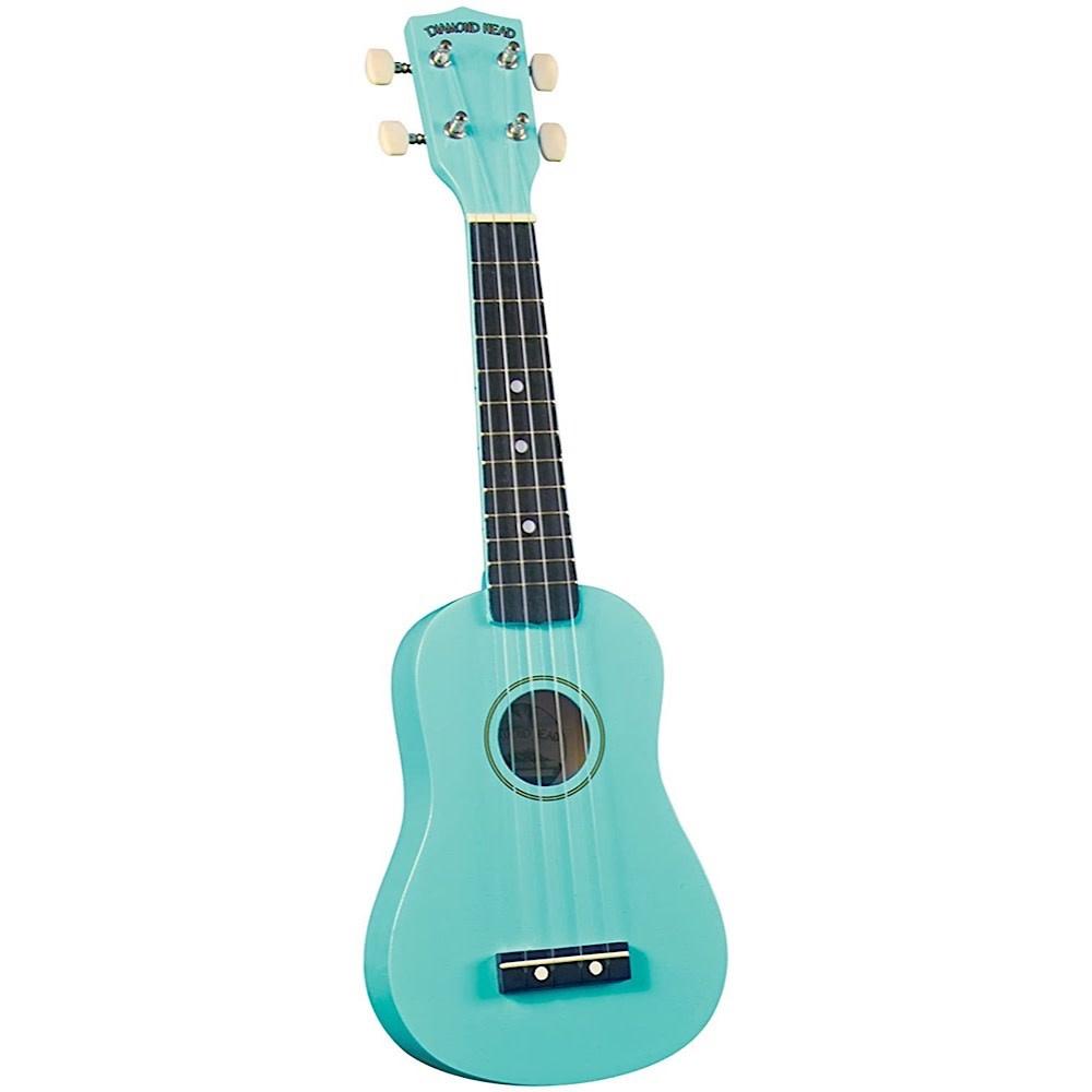 Saga Musical Instruments Diamond Head Ukulele - Turquoise