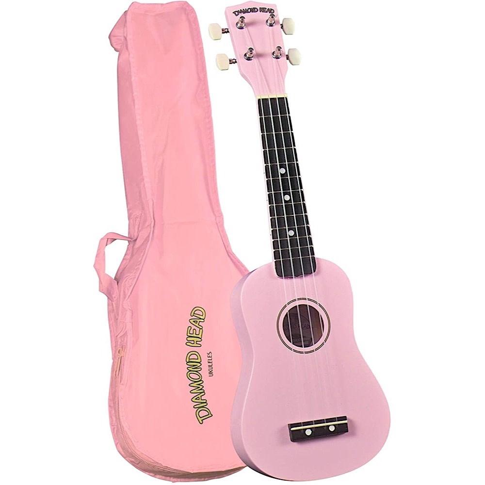 Diamond Head Ukulele - Pink