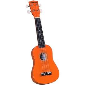 Saga Musical Instruments Diamond Head Ukulele - Orange