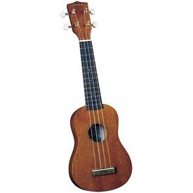 Saga Musical Instruments Diamond Head Ukulele - Natural Mahogany