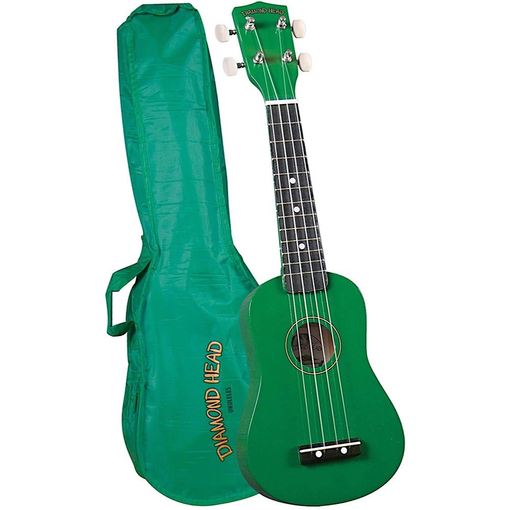 Diamond Head Ukulele - Green